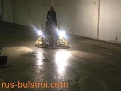 Полагане на шлайфан бетон