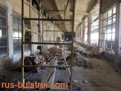 Строителни ремонти във фабрика Лъв - Габрово