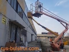 Строителни ремонти в завод за хартия - Никопол_1