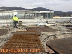 Строителни ремонти в завод Капитан Дядо Никола - Габрово