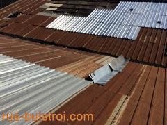 Ремонт на ламаринен покрив на Зора 2000 - Търговище
