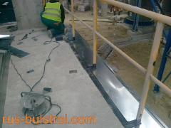 Ламаринени обшивки на нова производствена мощност в Девня цимент_2