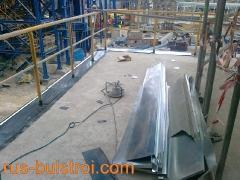 Ламаринени обшивки на нова производствена мощност в Девня цимент_3