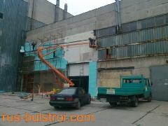 Външна топлоизолация на промишлени помещения