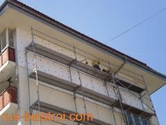 Външна топлоизолация на фасада на жилищен блок_1
