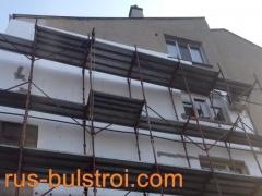 Външна топлоизолация на жилищна кооперация в Русе