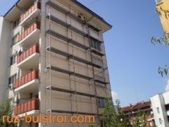 Външна топлоизолация на фасада на жилищен блок_2