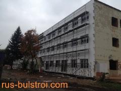 Зидария и топлоизолации на обект в Прага - Чехия_1