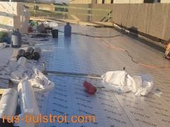 Топлоизолация и хидроизолация на покрив в Лил - Франция_1