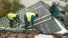 Ремонт на покрив с керемиди на частен дом в гр. Зеле - Белгия_1