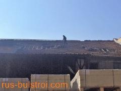 Ремонт на покрив с керемиди на Труд АД - Русе