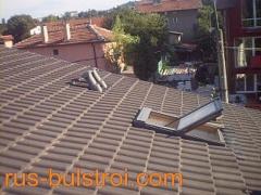 Ремонт на покрив с керемиди на къща в София_2