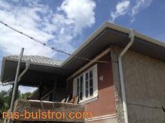 Ремонт на покрив с керемиди на къща в село Гарван_2