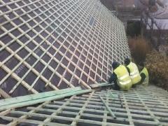 Ремонт на покрив с керемиди на частен дом в гр. Зеле - Белгия_3