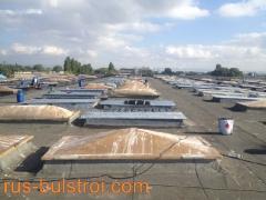 Ремонт на покрив на Домостроене - Бургас