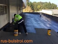 Ремонт на покрив с битумна мембрана на Спиди - Русе