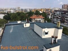 Комплексен ремонт на покрив на жилищен блок в Бургас