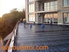 Хидроизолации на хотел в Поморие_1