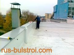 Ремонт на покриви на ТЕЦ - Русе с PVC мембрана_2