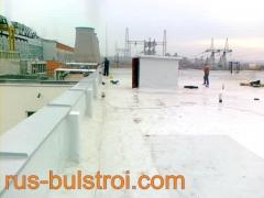 Ремонт на покриви на ТЕЦ - Русе с PVC мембрана_3