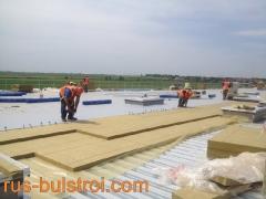 Топлоизолация и хидроизолация на покрив на нов логистичен център на LIDL в село Кабиле_3