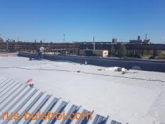 Ремонт на покрив с PVC мембрана в Бургас.