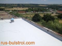 Ремонт на покрив с PVC мембрана на Печатни платки - Бяла
