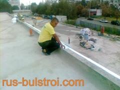 Ремонт на покрив с PVC мембрана на детска градина в Русе_1