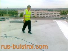 Ремонт на покрив с PVC мембрана на детска градина в Русе_2