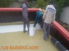 Топлоизолация и хидроизолация с PVC мембрана на покрива на шивашка фирма в Плевен_1