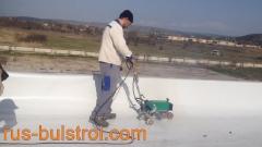 Хидроизолация с PVC мембрана на покриви на Фуего Транс - Плевен_1