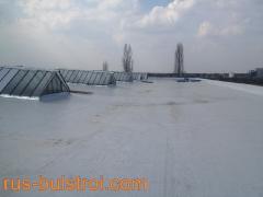Хидроизолация с PVC мембрана на покриви на Фуего Транс - Плевен_3