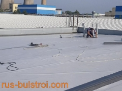 PVC мембрана на покривите на Ден Бравен - Русе