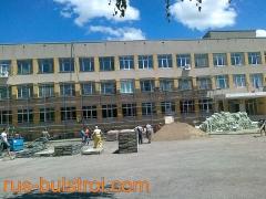 Комплексна топлоизолация на фасада и покрив на гимназия в Шумен_3