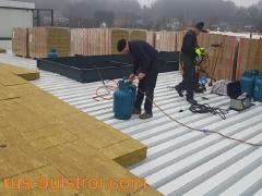 Топлоизолация и хидроизолация на покрив в Дийст - Белгия_1