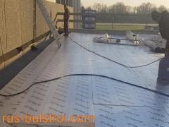 Топлоизолация и хидроизолация на покрив в Лил - Франция_2