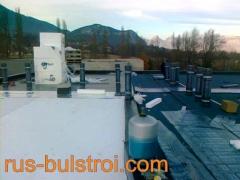Строителство, хидроизолации и топлоизолации на хотел в Гренобъл - Франция_1