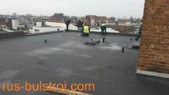 Ремонт на покрива на сервиз Рено в Атверпен - Белгия_3