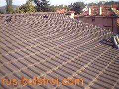 Ремонт на покрив с керемиди на къща в София_1
