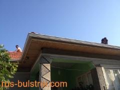 Ремонт на покрив с керемиди на къща в село Червена вода_2