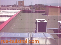 Хидроизолация на покривите на Книжна борса - София_1