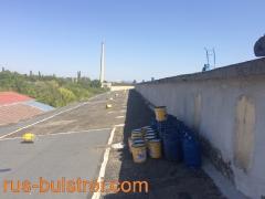 Ремонт на покрив с битумна мембрана в Търговище.