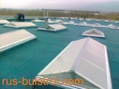 Хидроизолации и ремонт на фонари на покриви на SKF - Сопот 2013 г._2