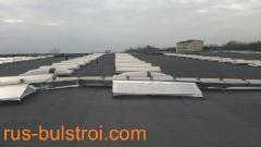 Хидроизолации и ремонт на фонари на покриви на SKF - Сопот 2014 г._2