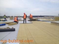 Топлоизолация и хидроизолация на покрив на нов логистичен център на LIDL в село Кабиле_1