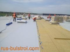Топлоизолация и хидроизолация на покрив на нов логистичен център на LIDL в село Кабиле_2