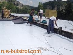 Ремонт на покрив на читалище с PVC мембрана в село Красен - Русенско_1