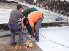 Комплексен ремонт на покрив с PVC мембрана в Зора 2000 - Търговище_3