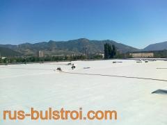 Ремонт на покрив с PVC мембрана на покрив на Светлина - Сливен_3