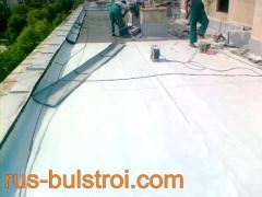 Ремонт на покрив с PVC мембрана на жилищен блок в Харманли_1